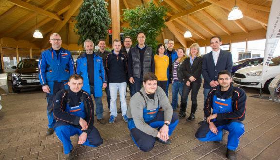 Das Team im Autohaus Martin freut sich auf Ihren Besuch im Autohaus Helmstedt.