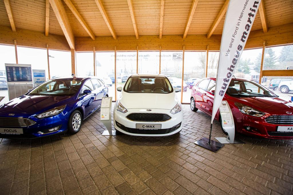 In Helmstedt finden Sie Neuwagen verschiedener Modelle der Market Ford.